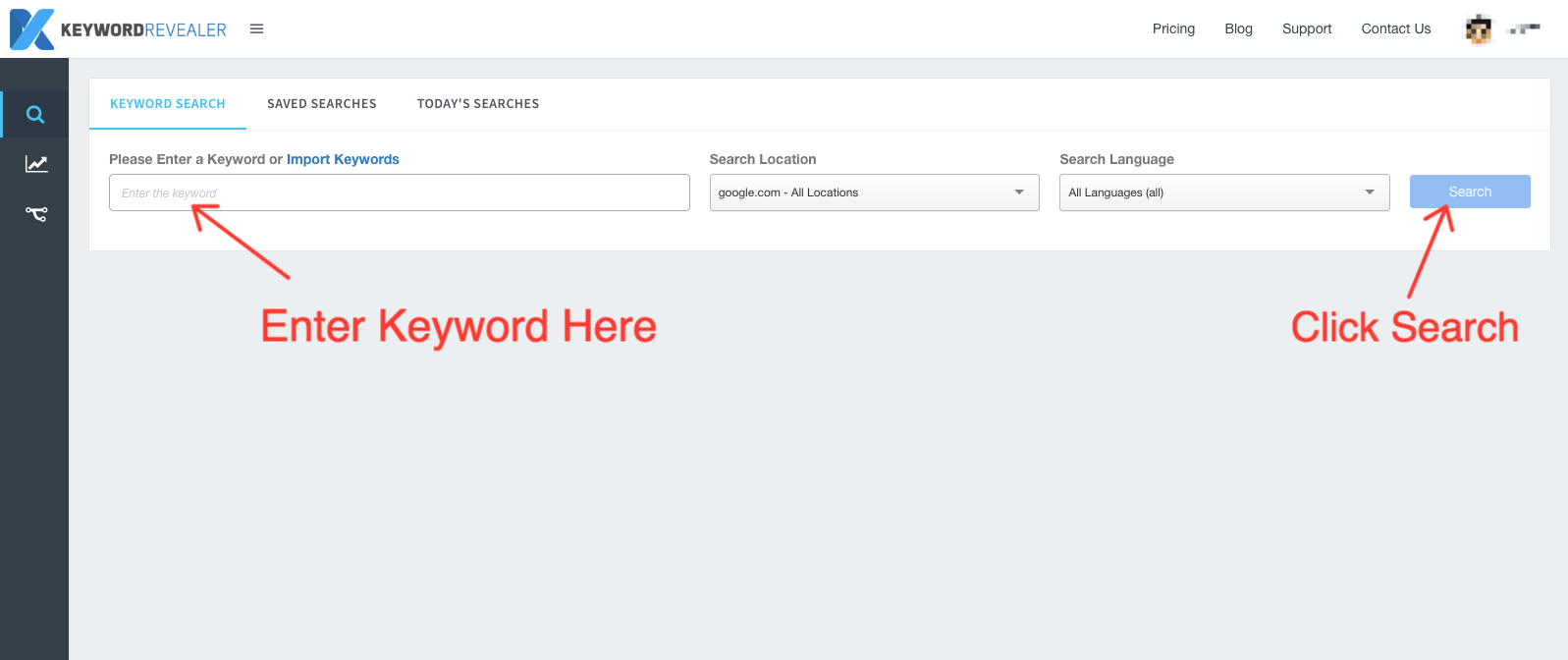 keyword-research-dashboard